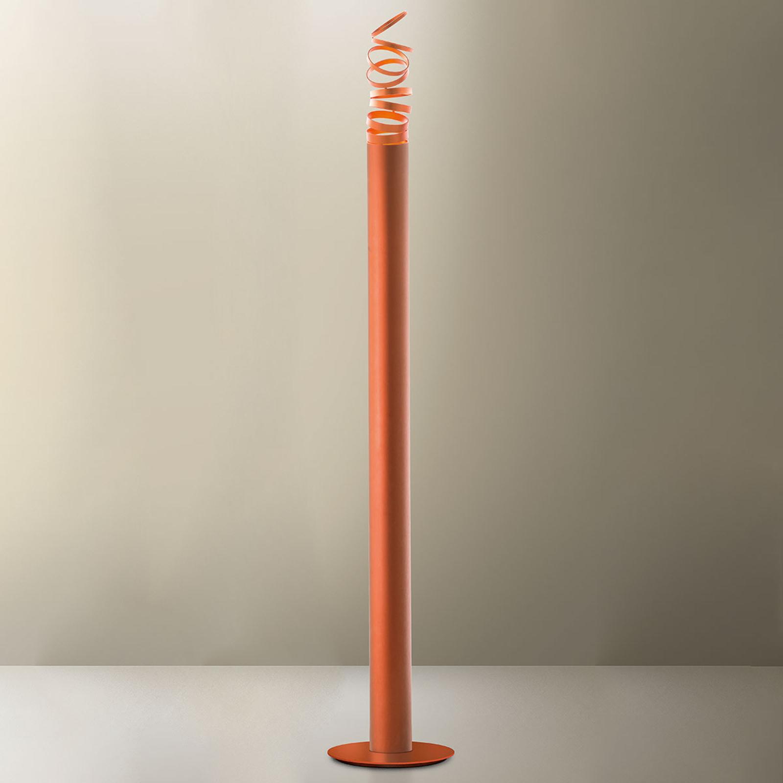 Artemide Decomposé LED-Stehleuchte orange