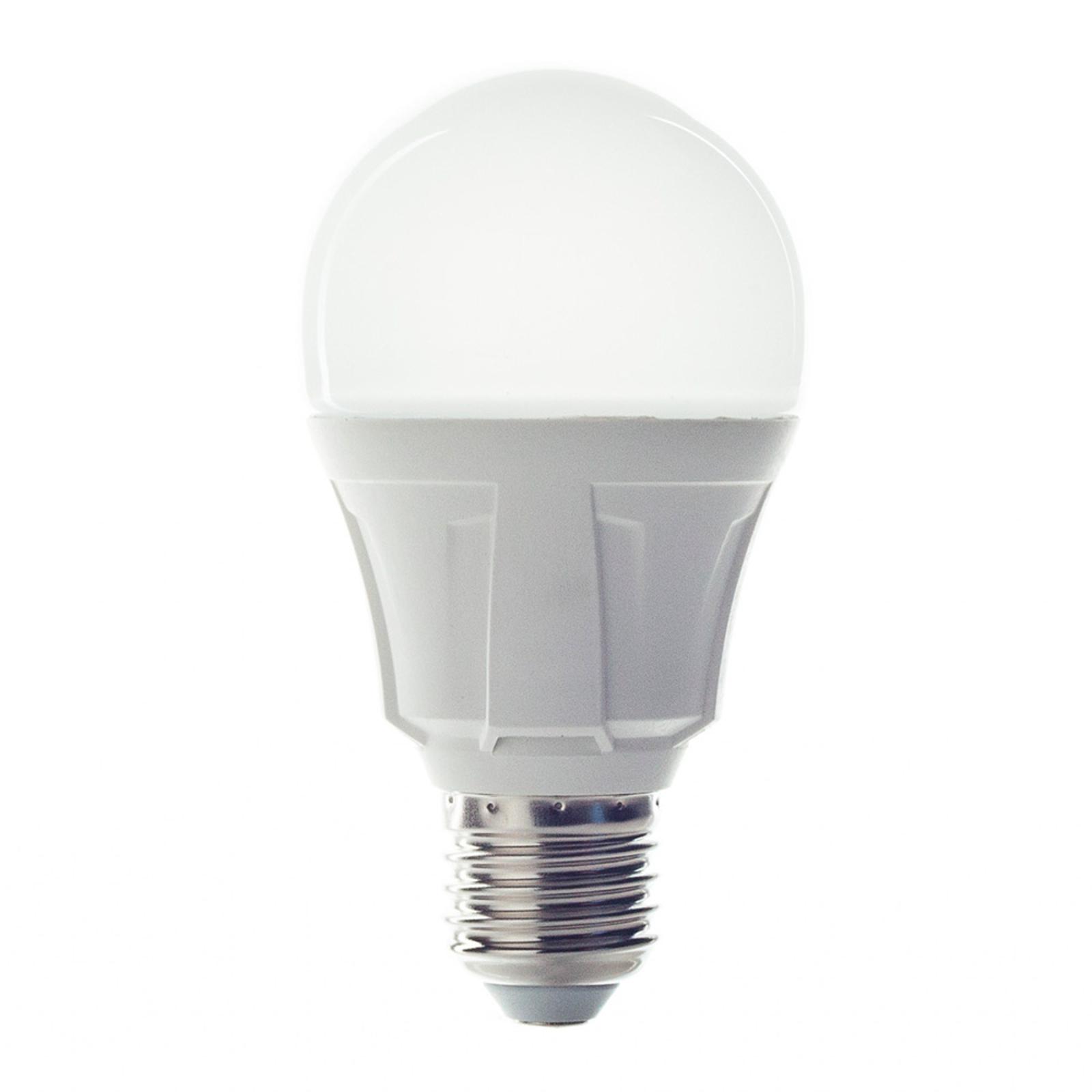 E27 11W 830 LED žárovka klasický tvar, teplá bílá