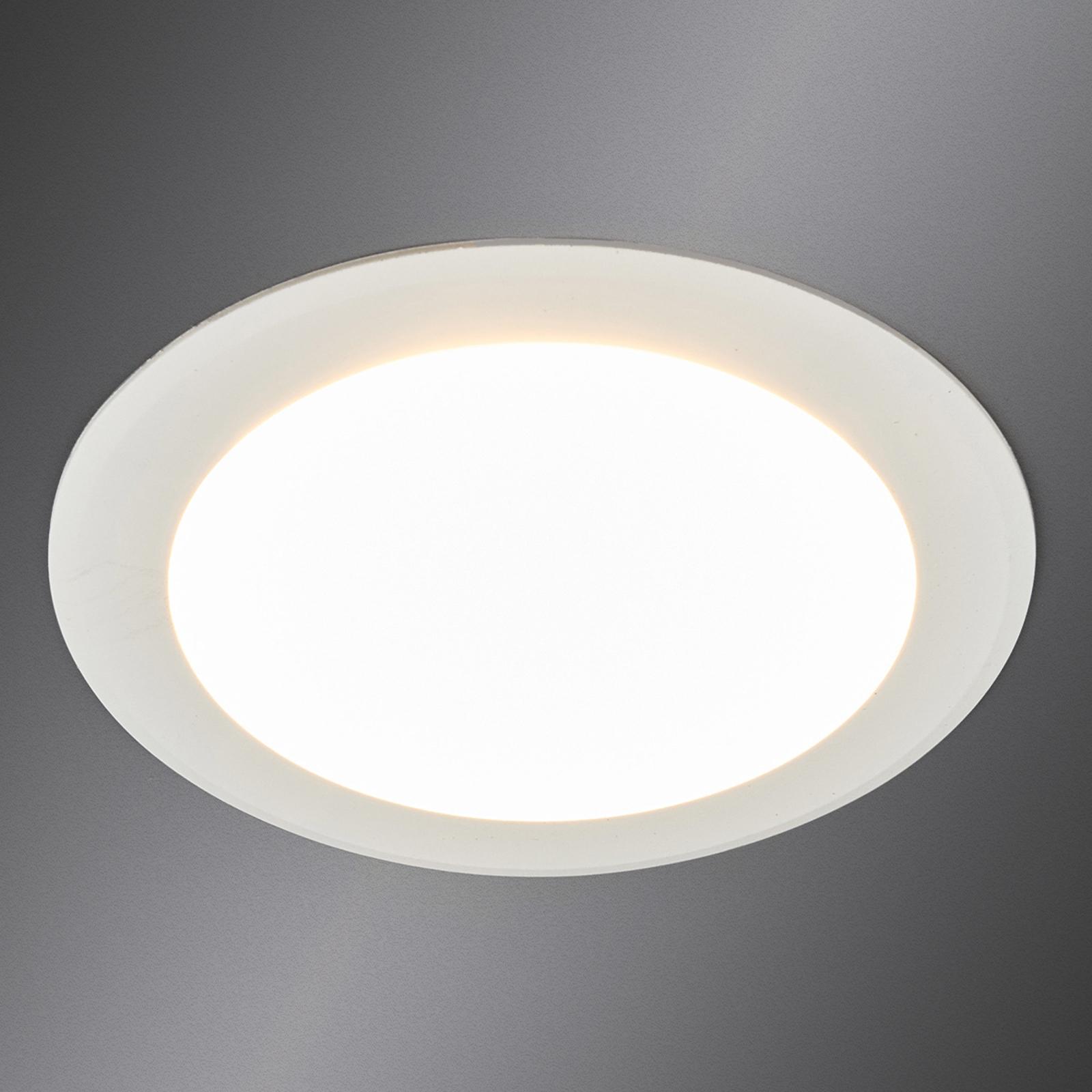 Arian - LED-innfellingsspot i hvitt, 11,3 cm