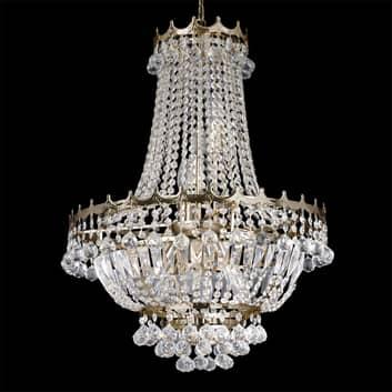 Impresionante lámpara de araña VERSALLES, cristal