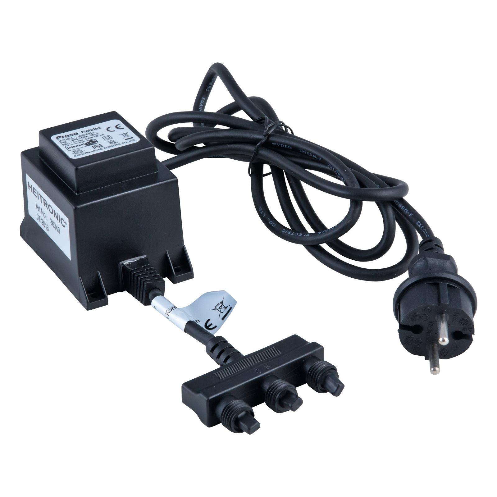Transformateur 36340 60W distributeur 3 voies