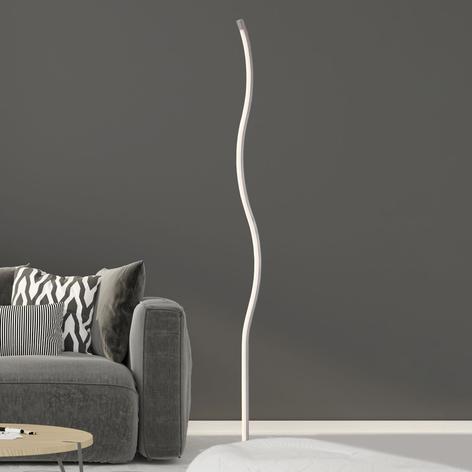 Lámpara de pie LED 1367-012, forma de ondas dimmer
