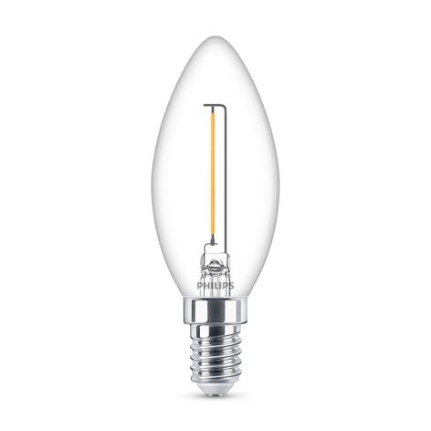 Philips LED Classic Kerzenlampe E14 B35 1,4W klar