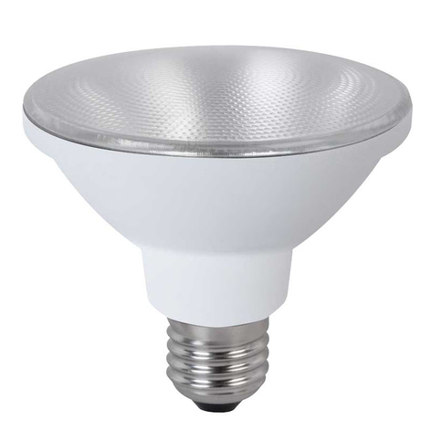 E27 10,5W LED reflektorpære PAR30 35° MEGAMAN