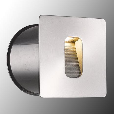 Prostokątna oprawa wpuszczana w ścianę Telke LED