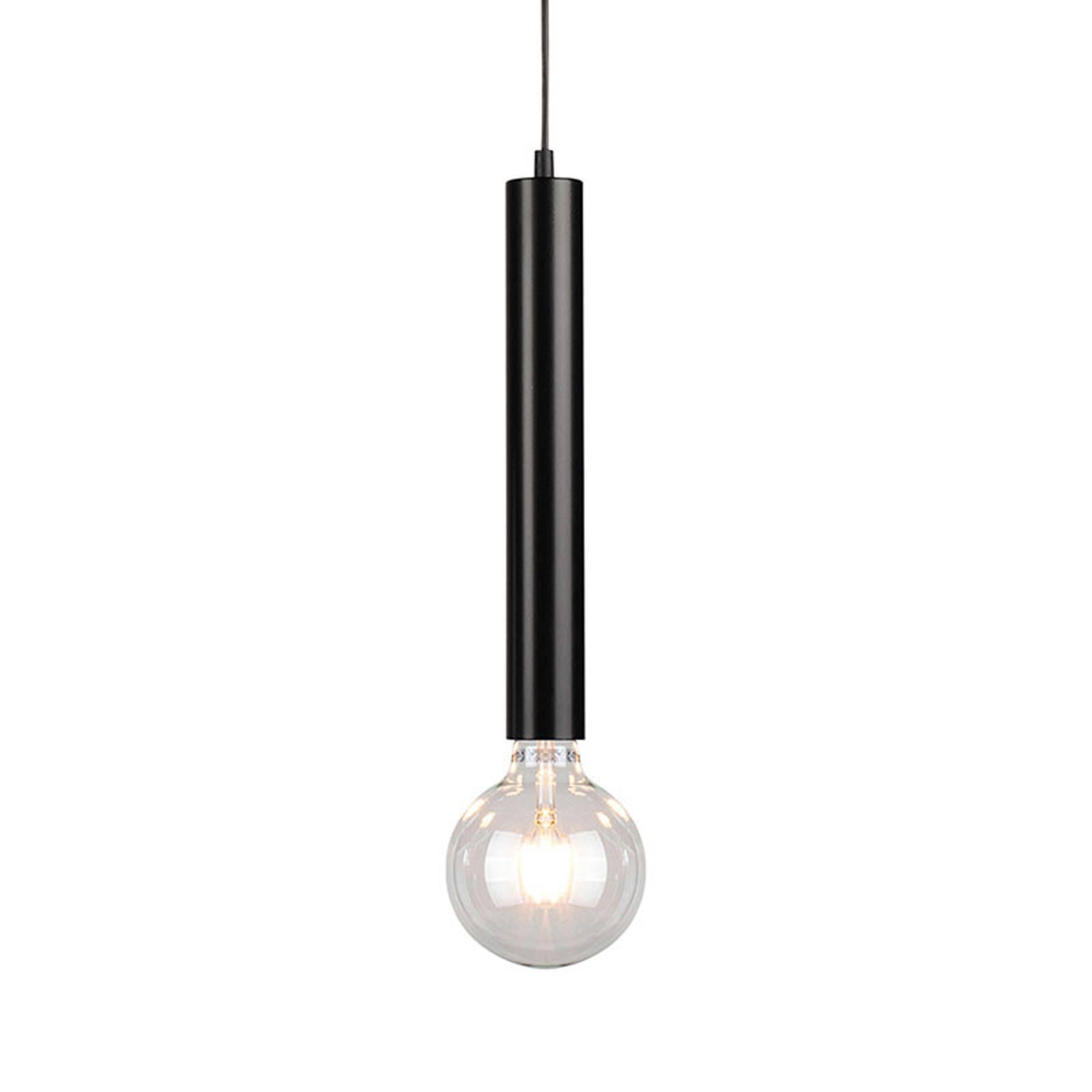 Hanglamp Lecy, zwart, 1-lamp