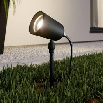 Lindby Elmana reflektor z grotem ziemnym GU10 IP65