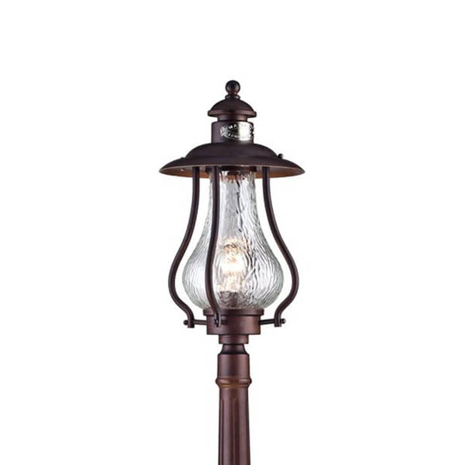 Dekorativt utformet veilampe La Rambla