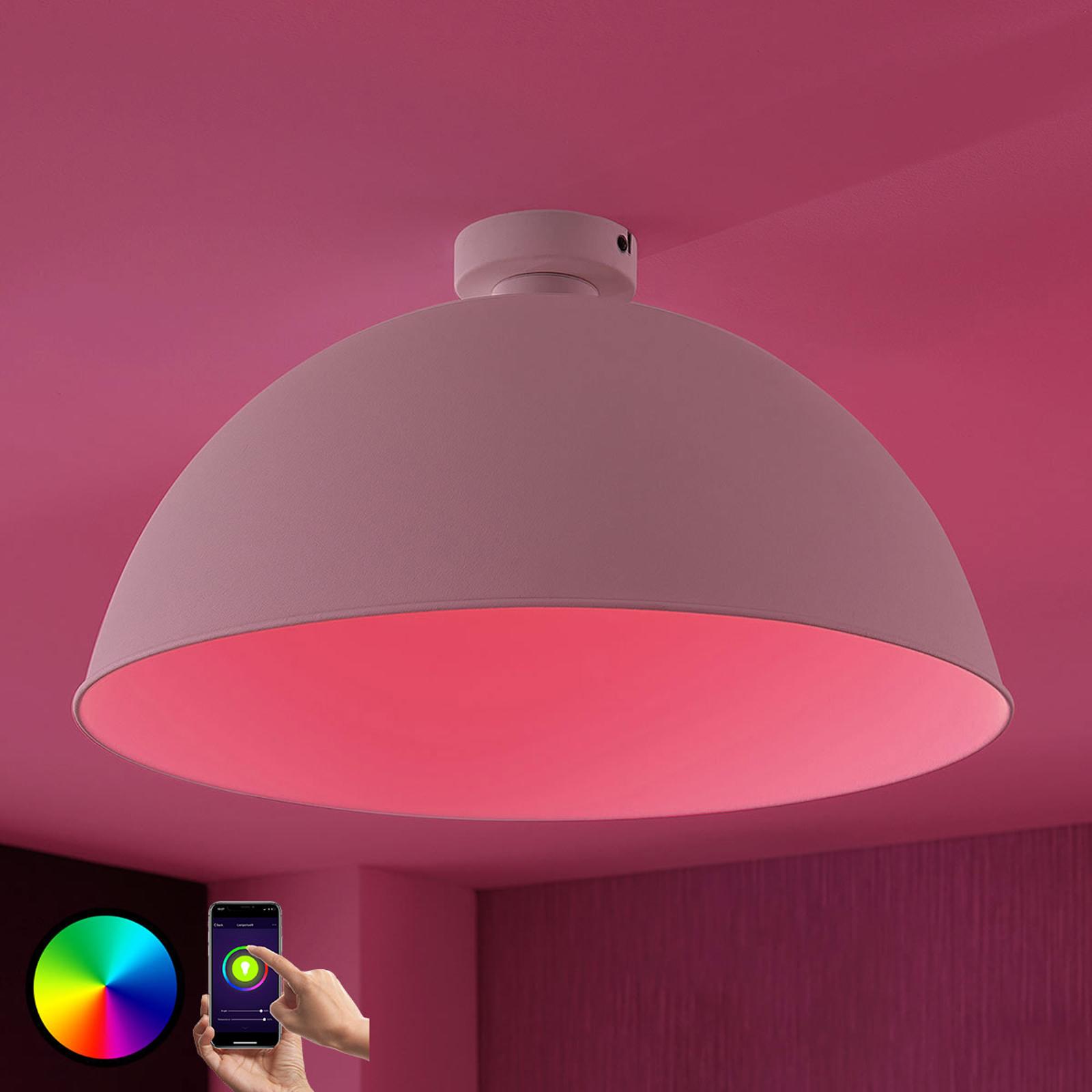 Lampa sufitowa LED Bowl WiFi 51cm biała