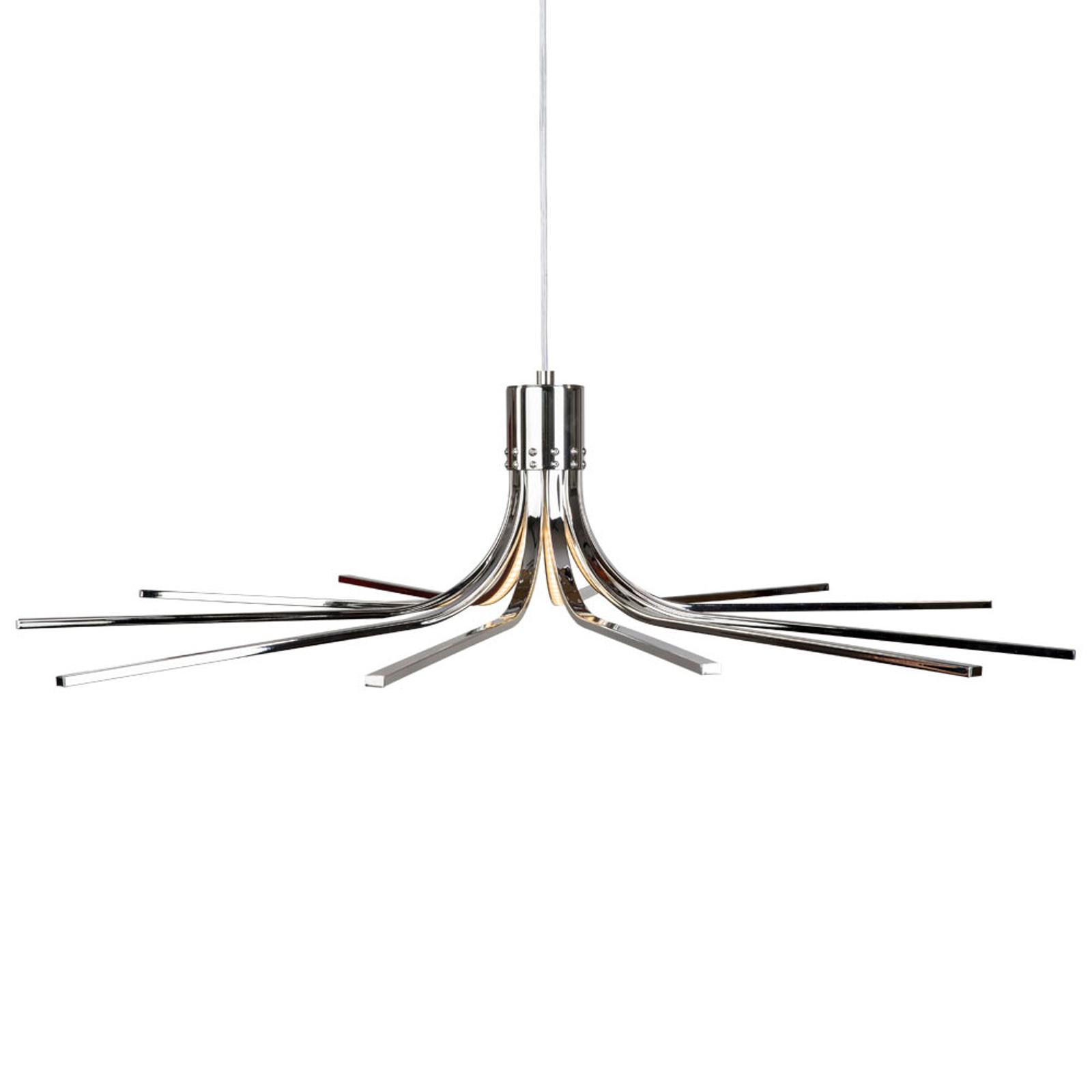 Lampa wisząca LED Torino chrom Ø 78 cm