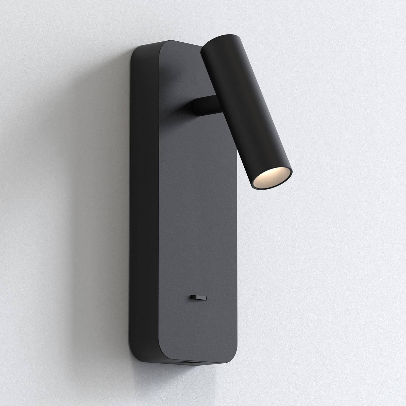 Astro Enna Surface USB applique LED, noire