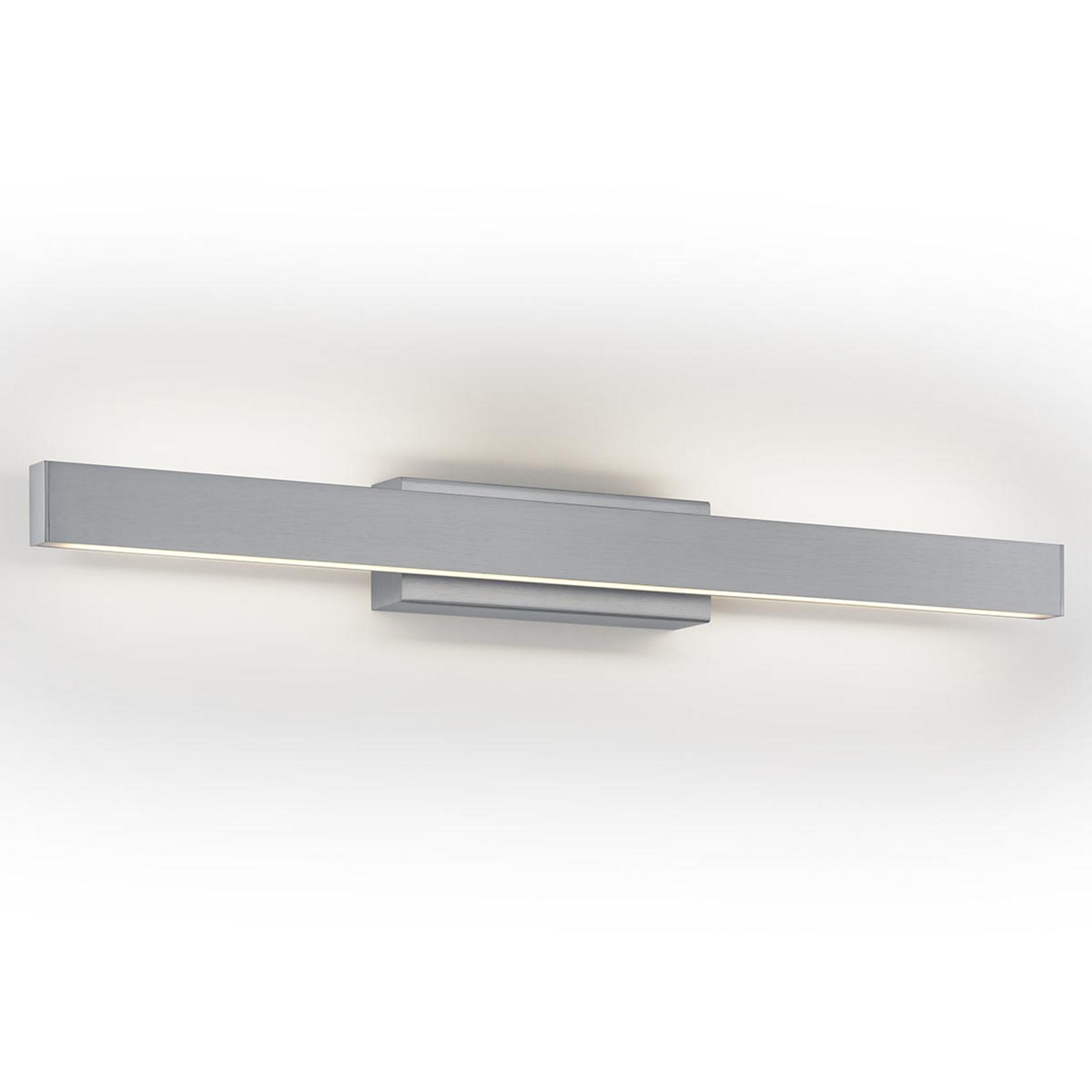 LED wandlamp Pia, dimbaar, mat nikkel