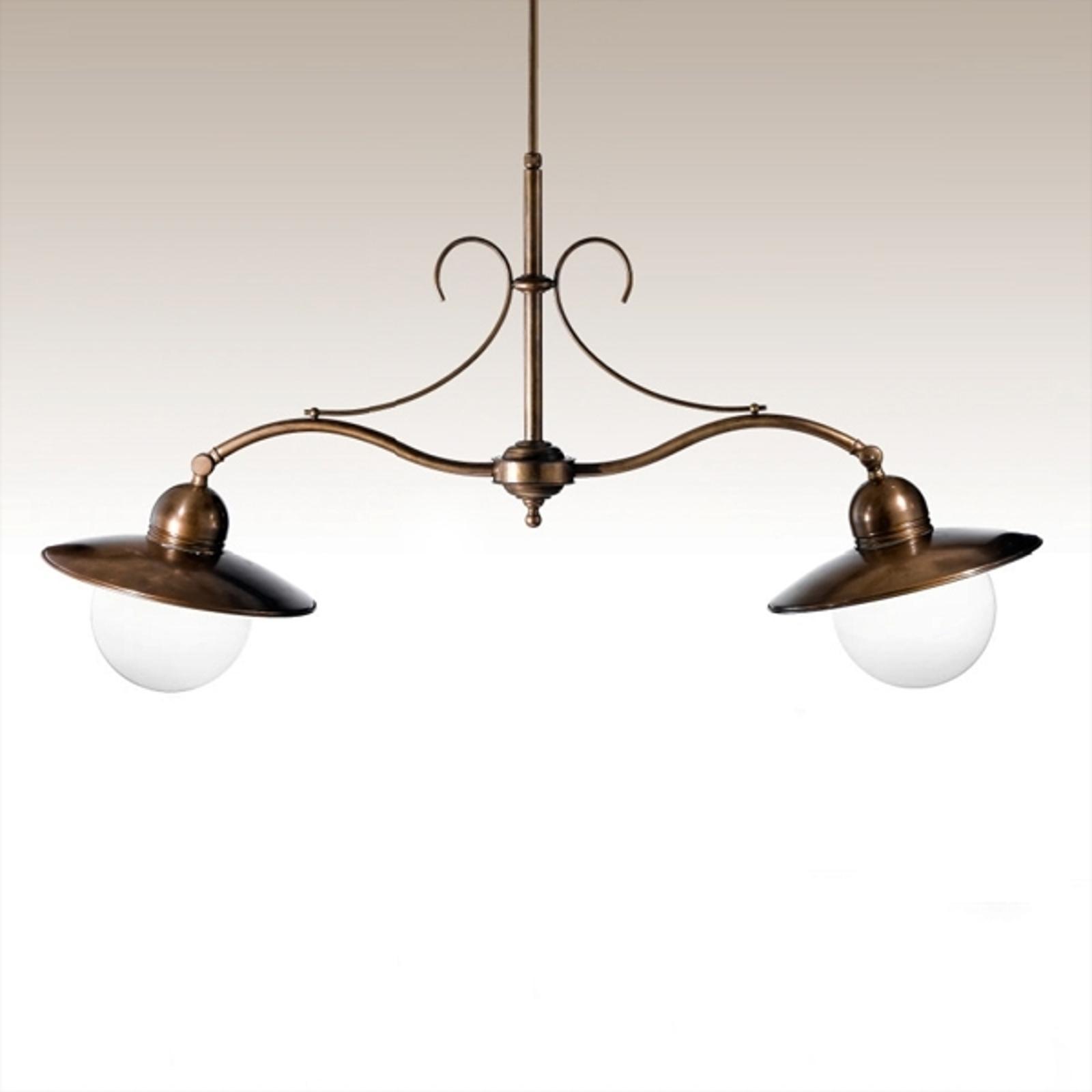 2-punktowa lampa wisząca Taverna