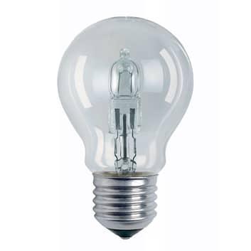 E27 halogenlampa Classic A päronform klar