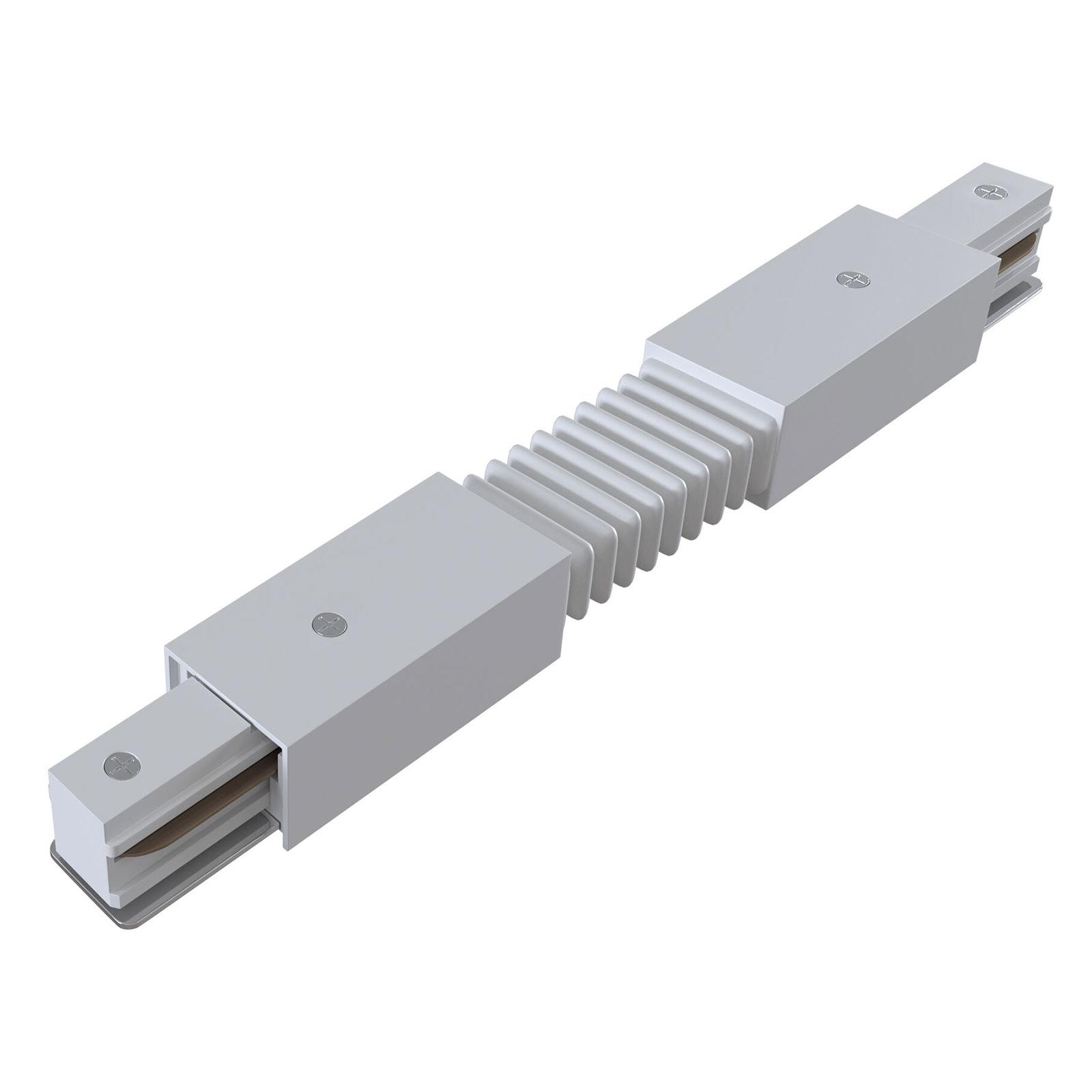 Flexverbinder Track, 1-Phasen-Schiene, weiß