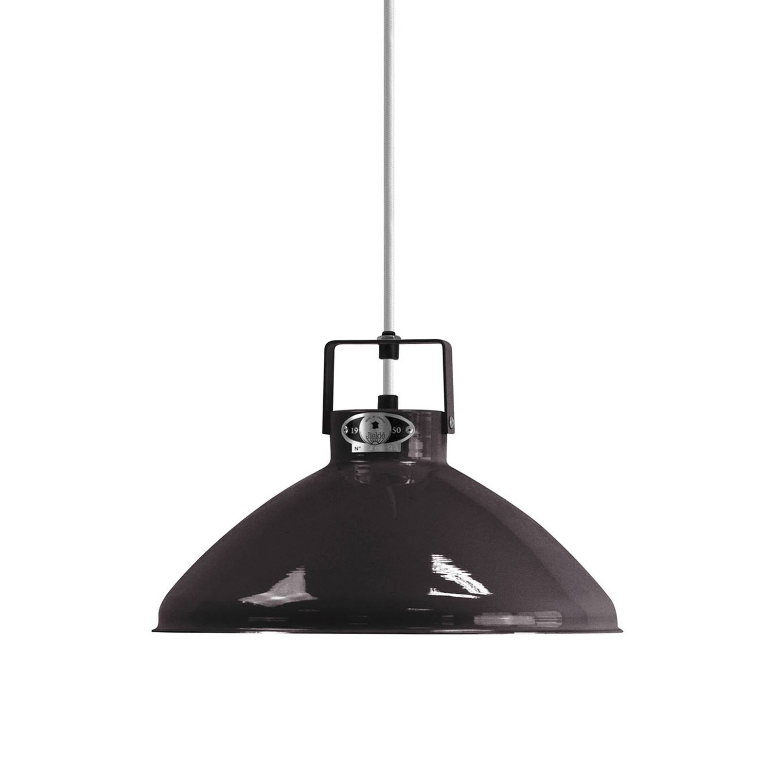 Jieldé Beaumont B240 lampa wisząca czarna lśniąca