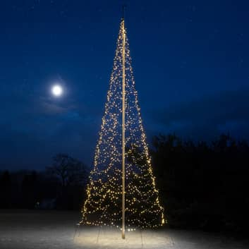 Fairybell® juletre, 10 m, 2000 LED-lys