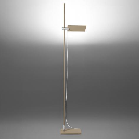 ICONE GiuUp LED-Deckenfluter, dimmbar, taubengrau