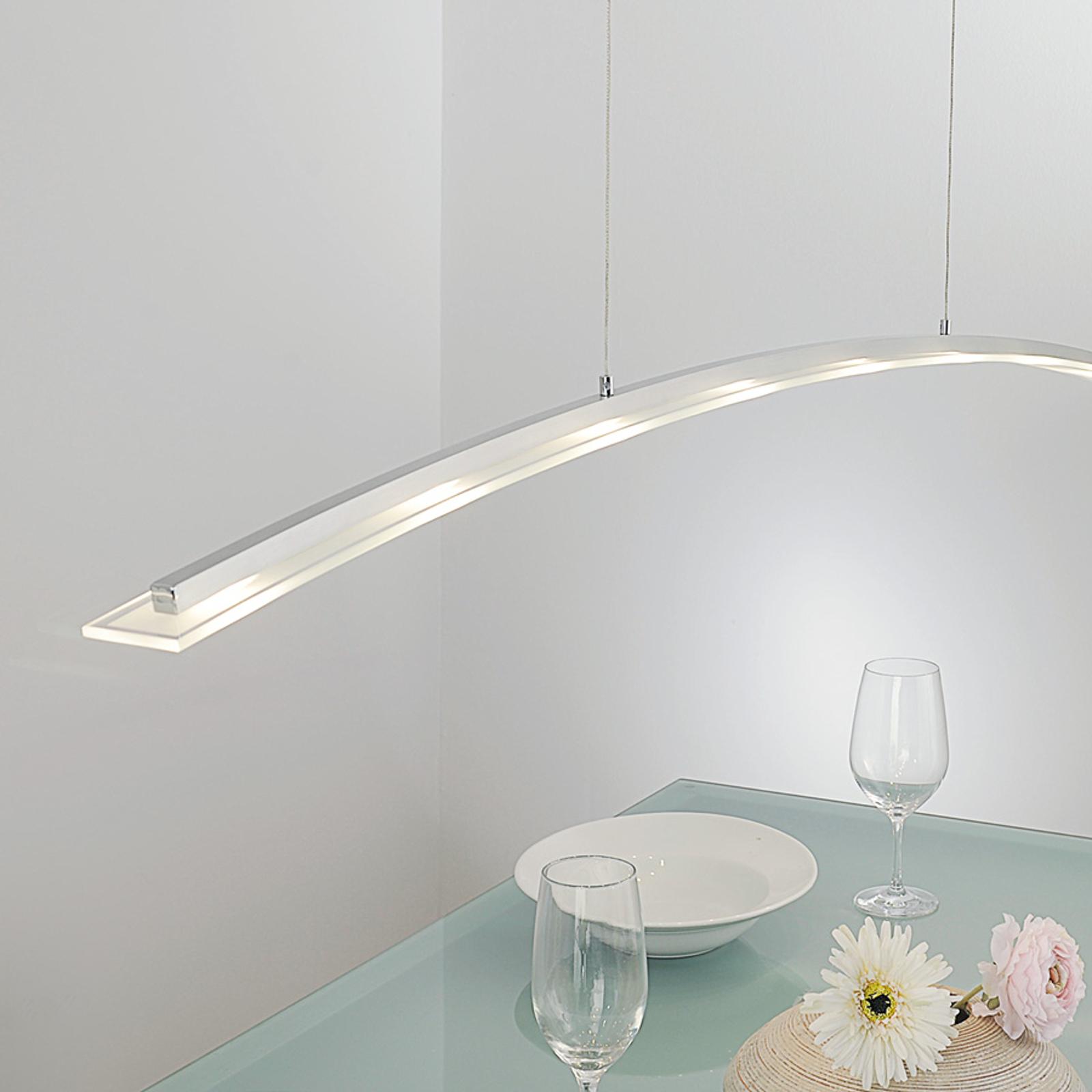 Lampa wisząca LED JUNA z reg. wys., 136 cm
