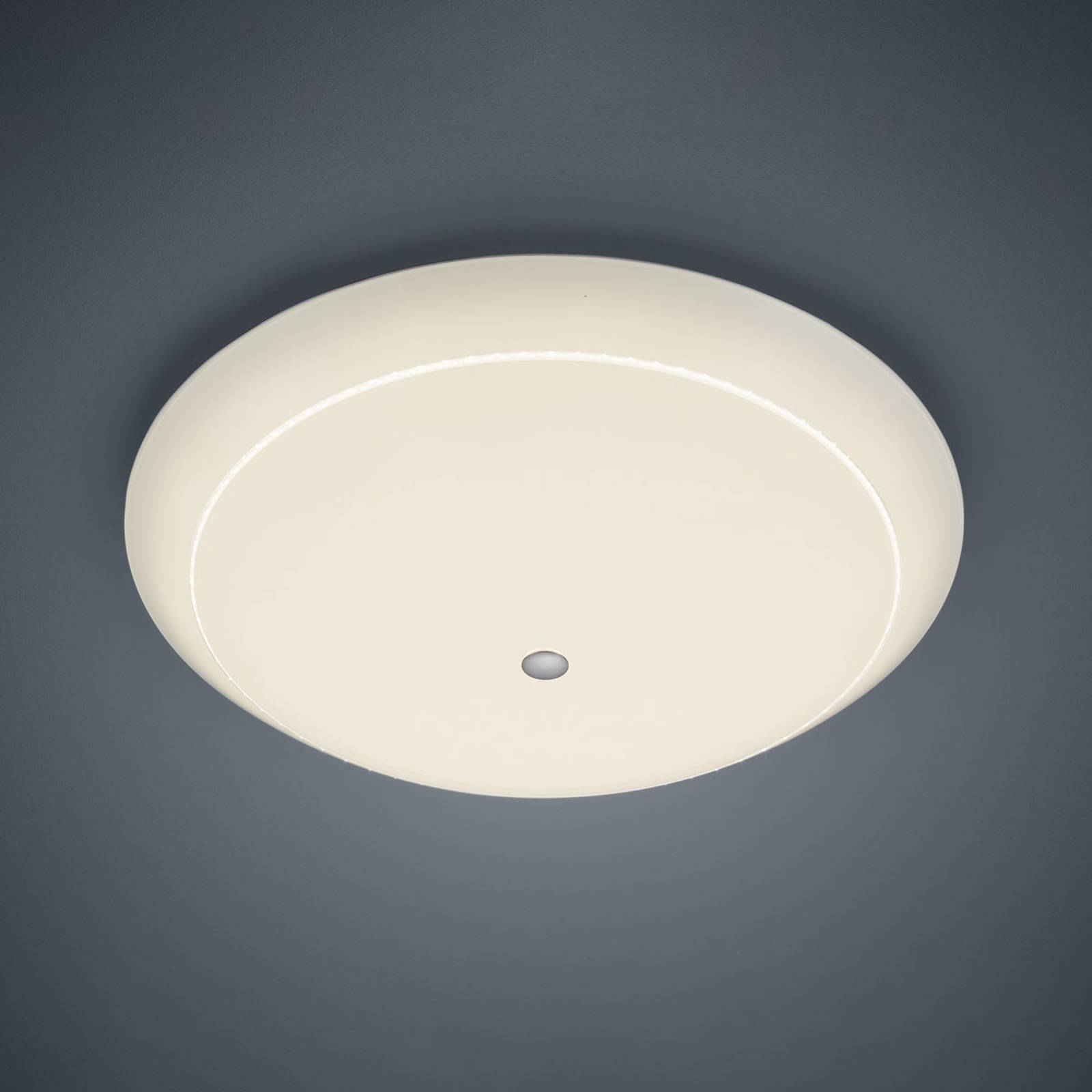 BANKAMP Yanis LED plafondlamp glas, Ø 56 cm