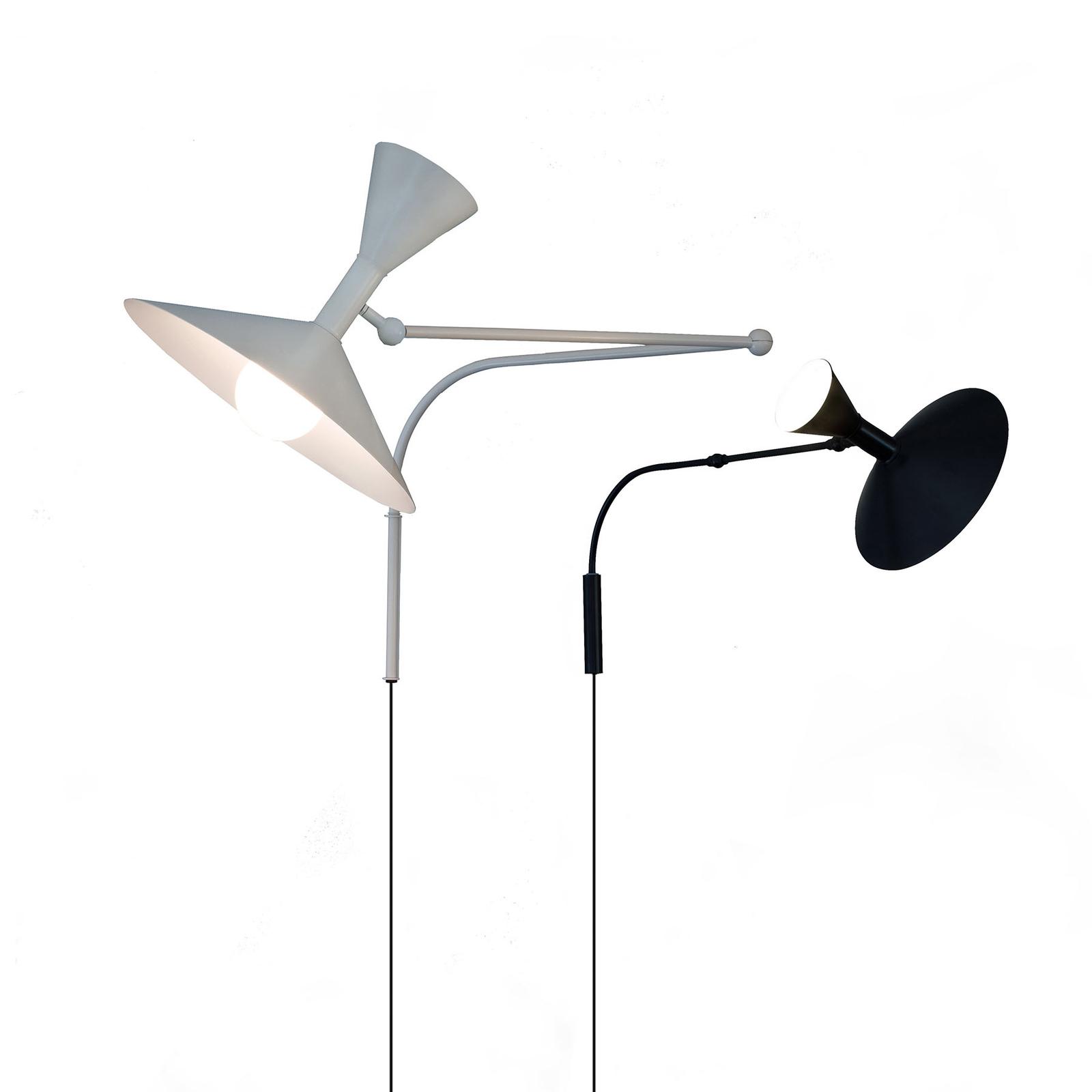 Nemo Lampe de Marseille applique, noire
