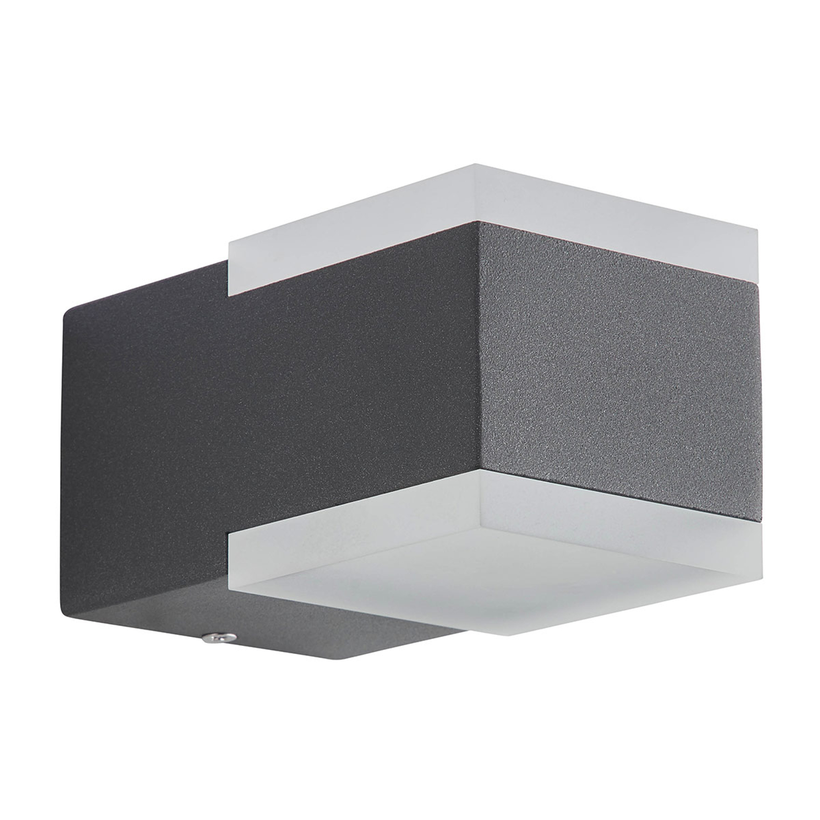AEG Amity LED-Außenwandleuchte, zweiflammig