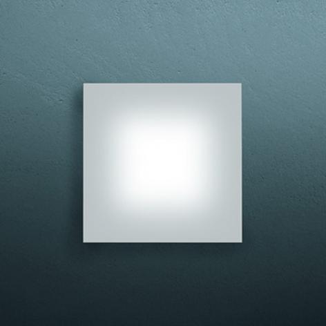 Ekstra flad SOLE LED-væglampe, 12 cm