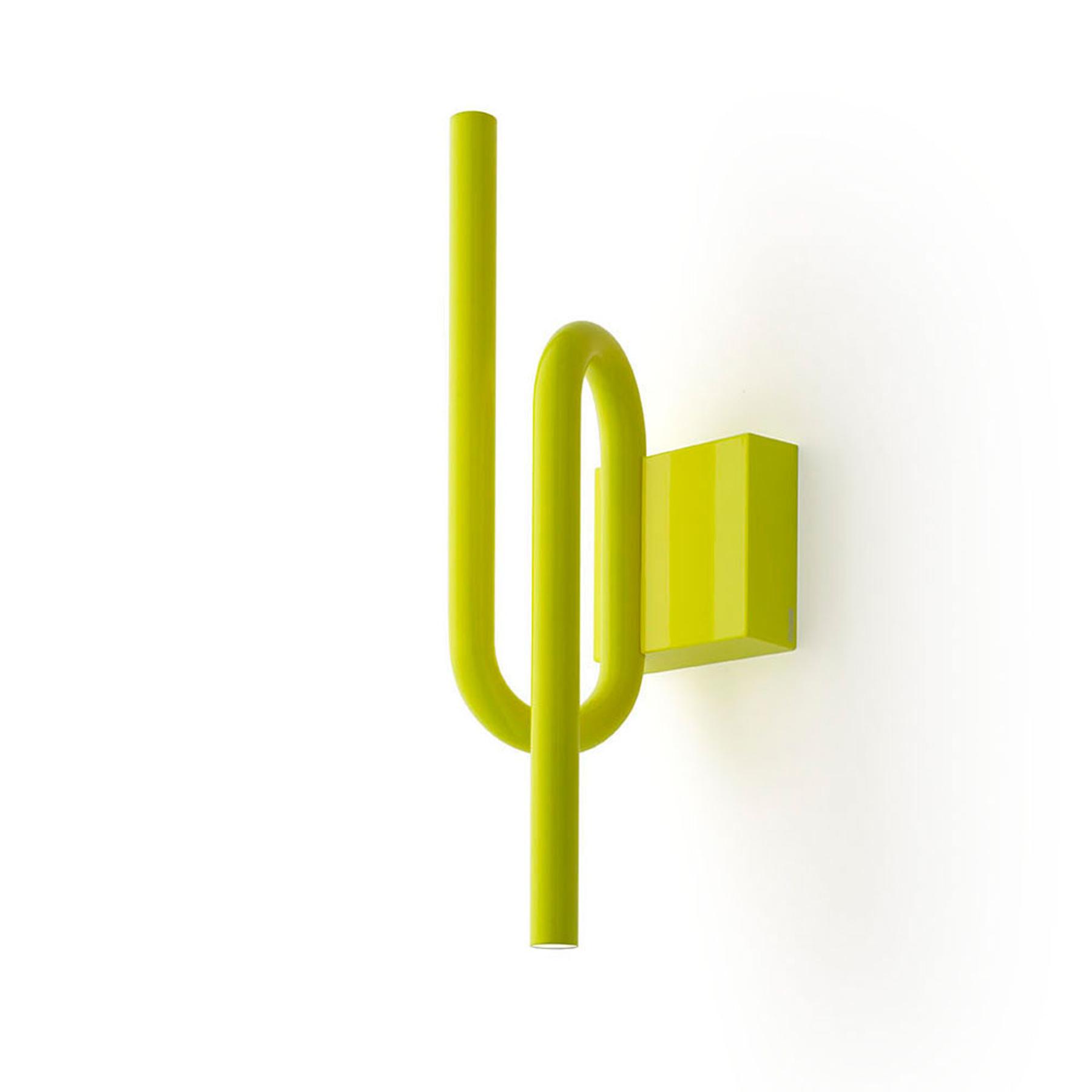 Foscarini Tobia LED-Wandleuchte gelb