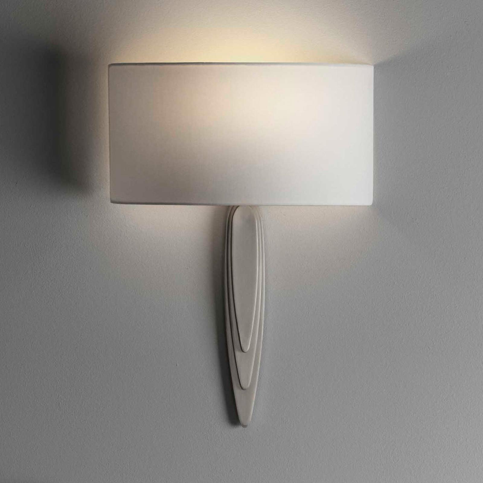 Astro Gaudi applique nickel mat/blanc