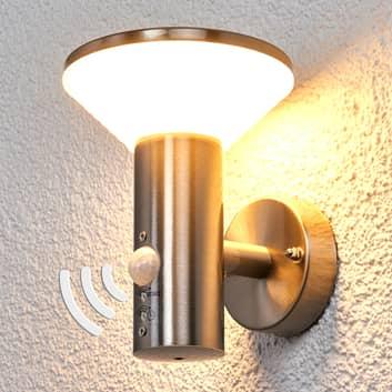 Bewegungsmelder-Wandleuchte Tiga für außen, LED