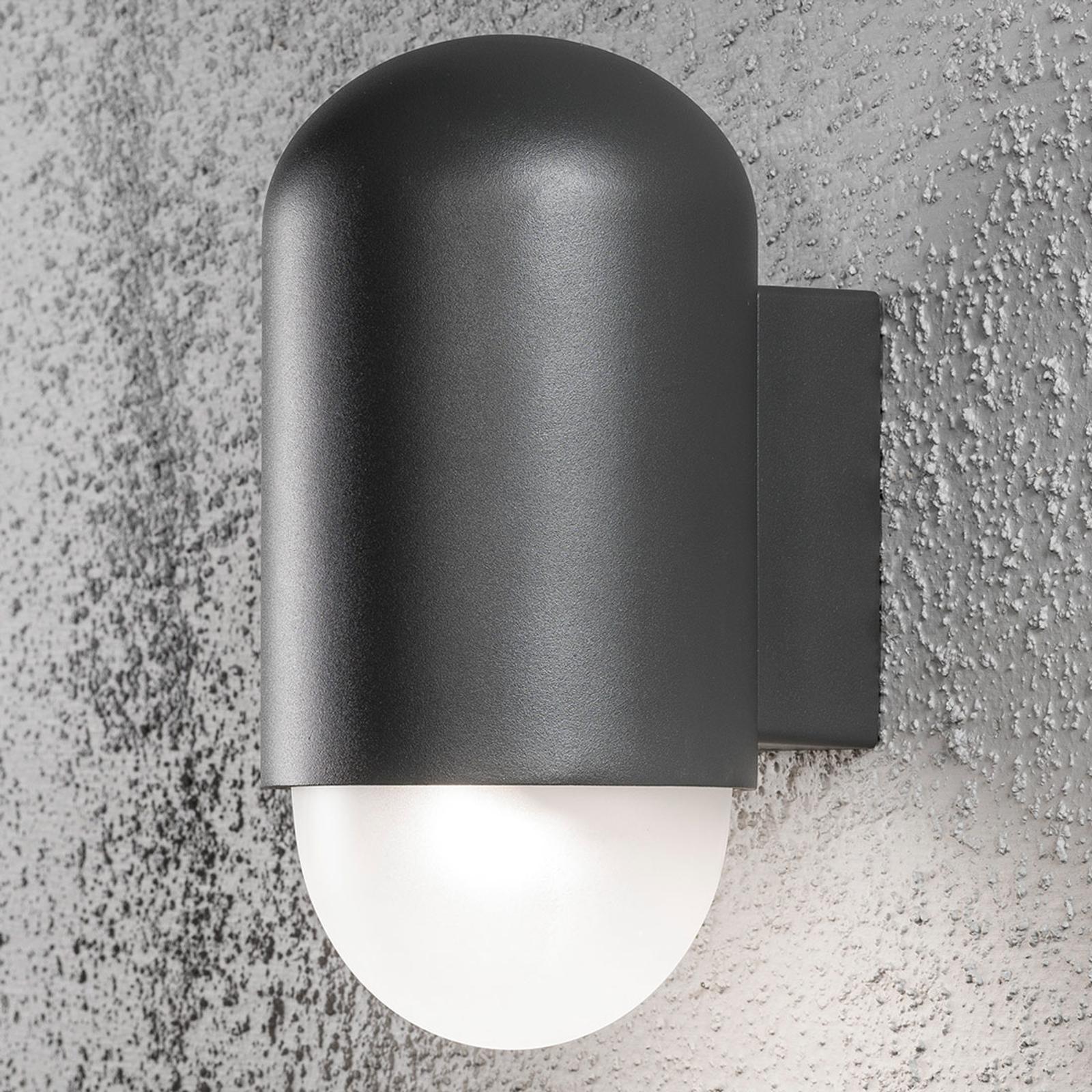 Sassari - utendørs LED vegglampe av aluminium