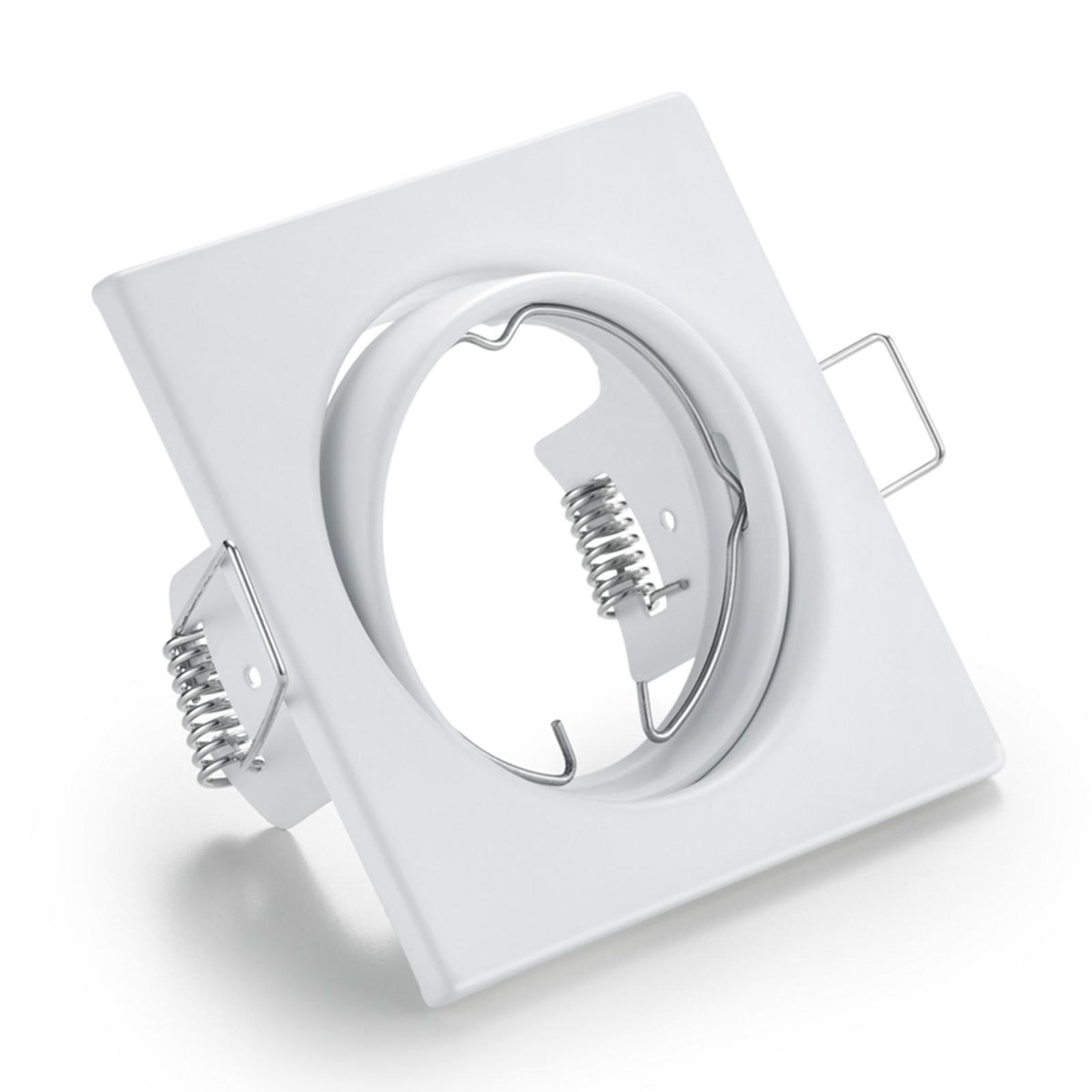 Downlight orientabile Jura, bianco