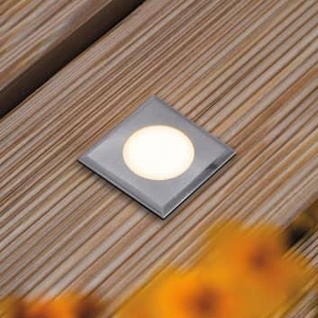 Paulmann House podlaha světlo IP65 hranaté ploché