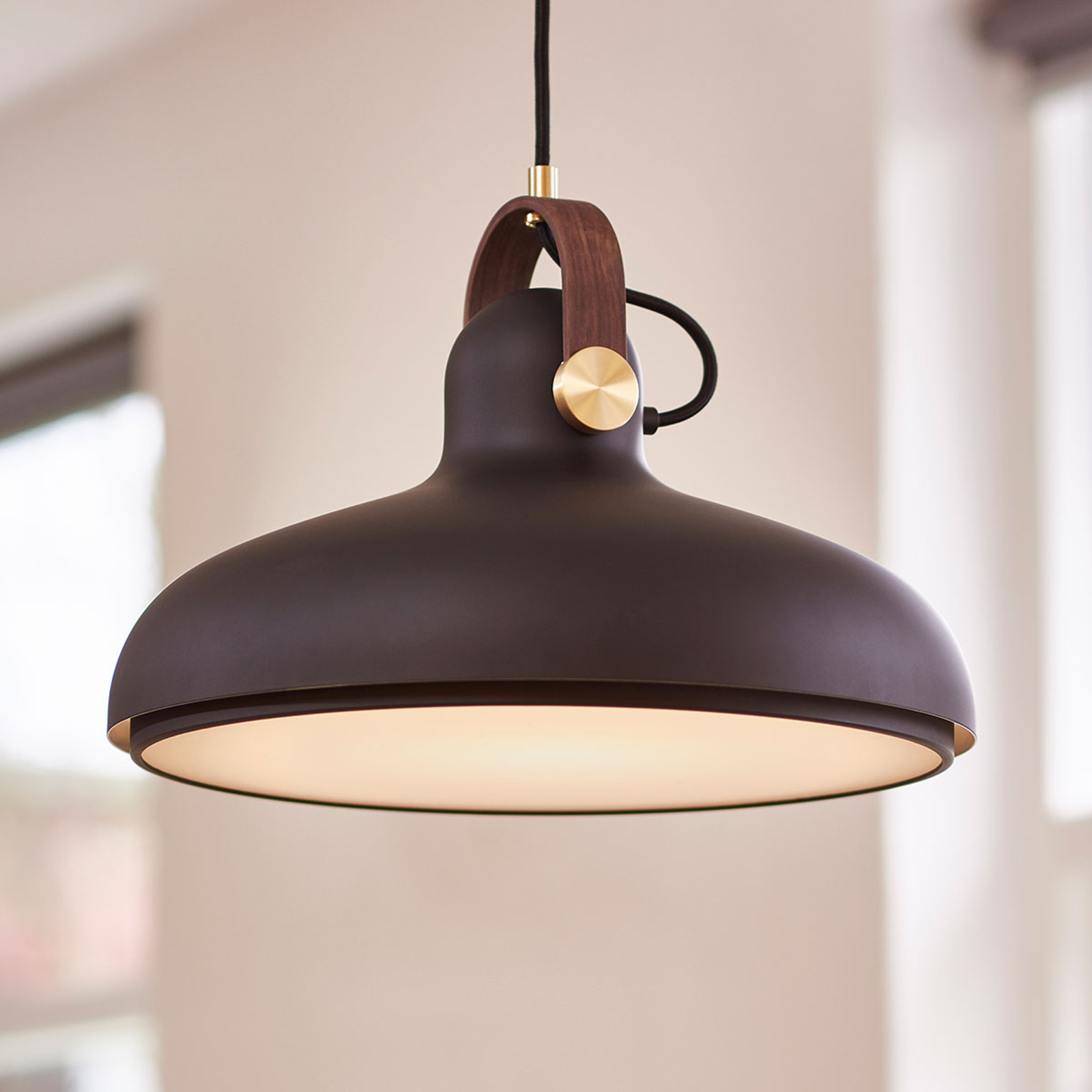 LE KLINT Carronade L - lampa wisząca czarna