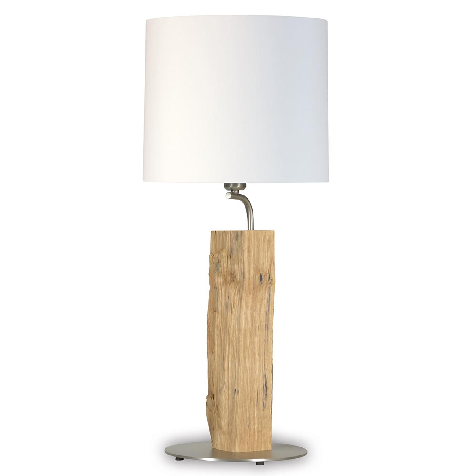 Neuer Kavalier tafellamp met houtelement, 71 cm
