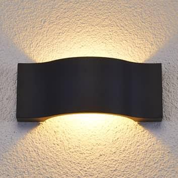 Applique parete Jace, elegante, LED, esterni
