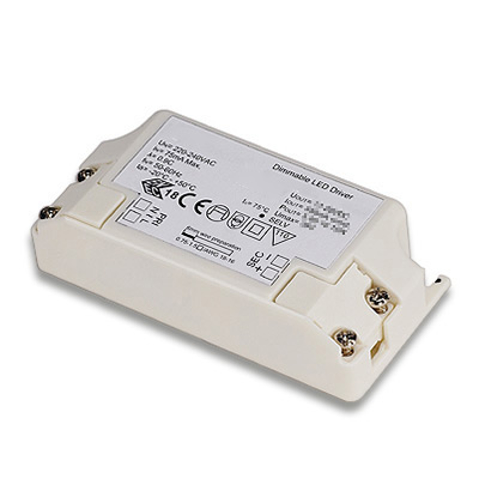 Dimbar LED-driver 10 W, 350 mA