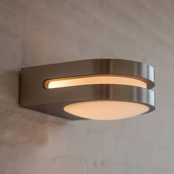 LED-Außenwandleuchte Fancy, edelstahl