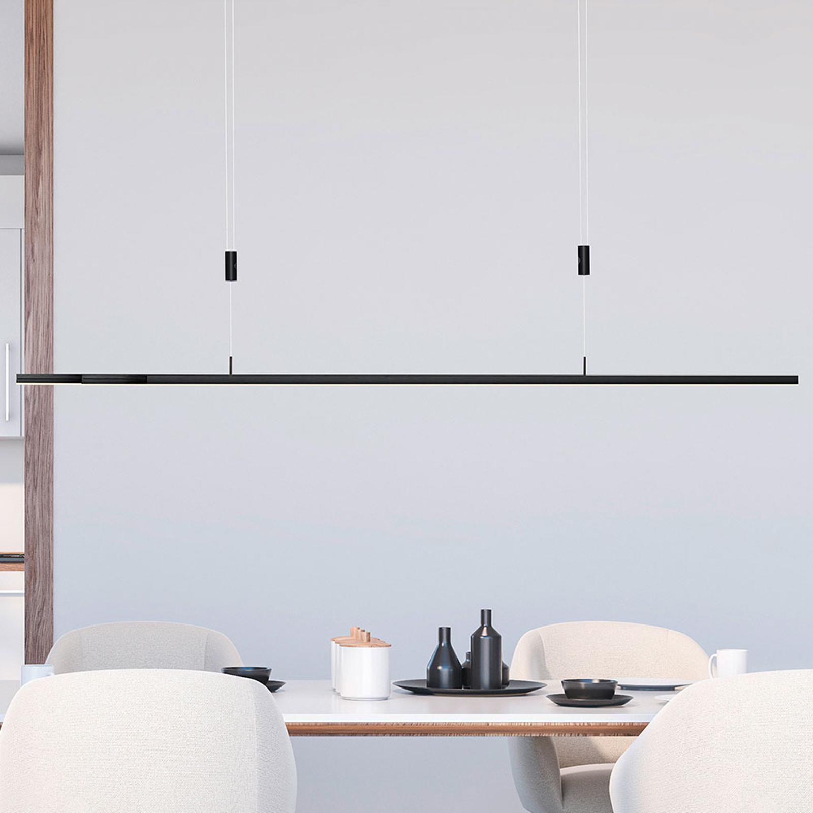 BANKAMP L-lightLINE LED SensorDim Down anthrazit