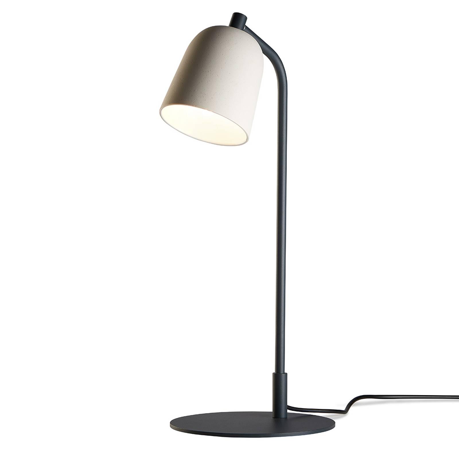 Casablanca Clavio - design-tafellamp, crèmewit