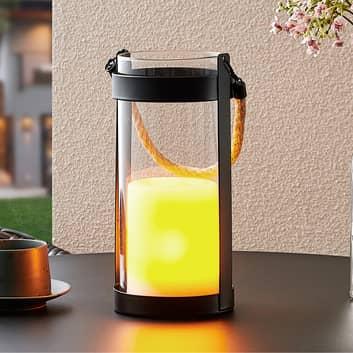Lindby Sadiye solcelle-lygte, dekorationslampe