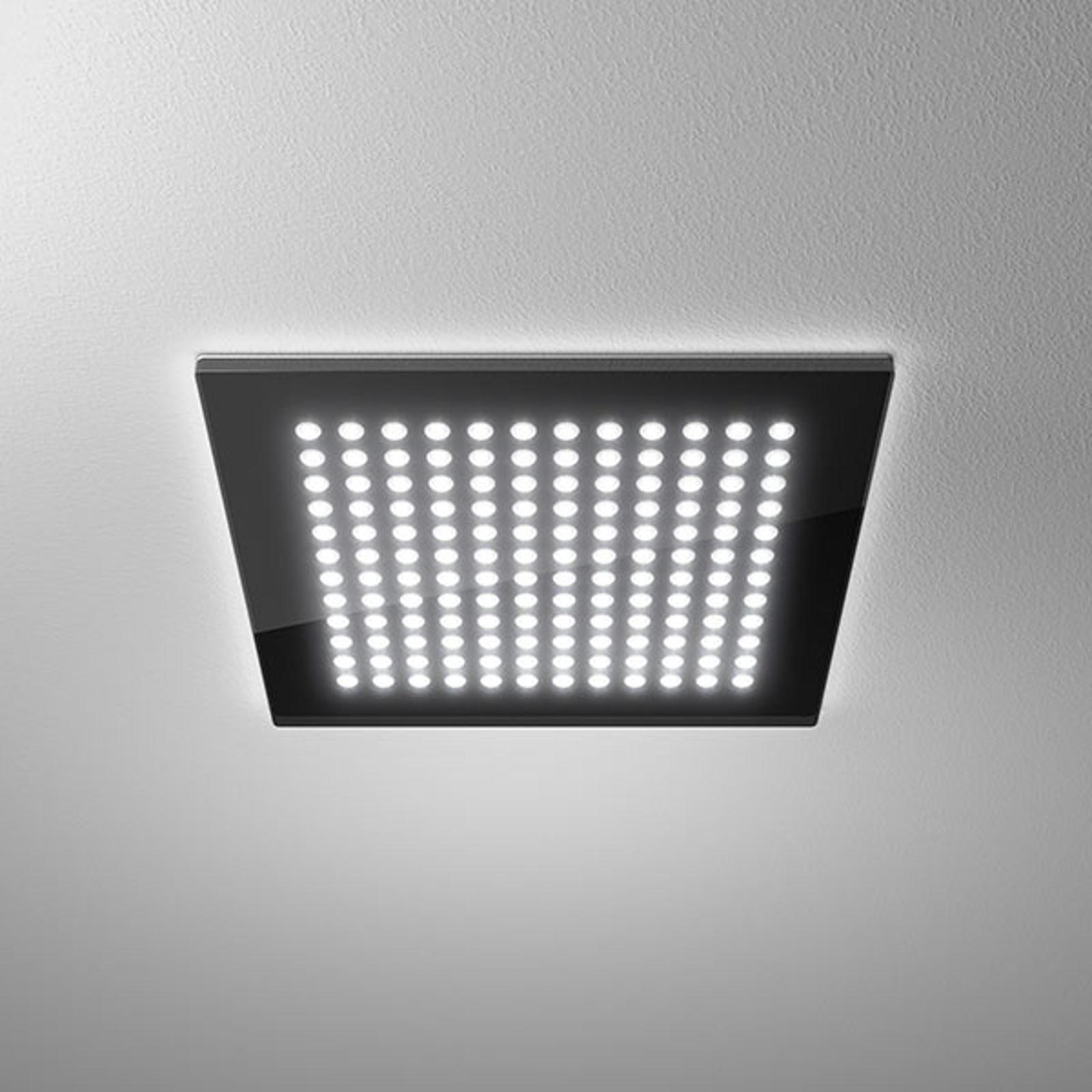 LED downlight Domino Flat Square, 26 x 26 cm, 22 W