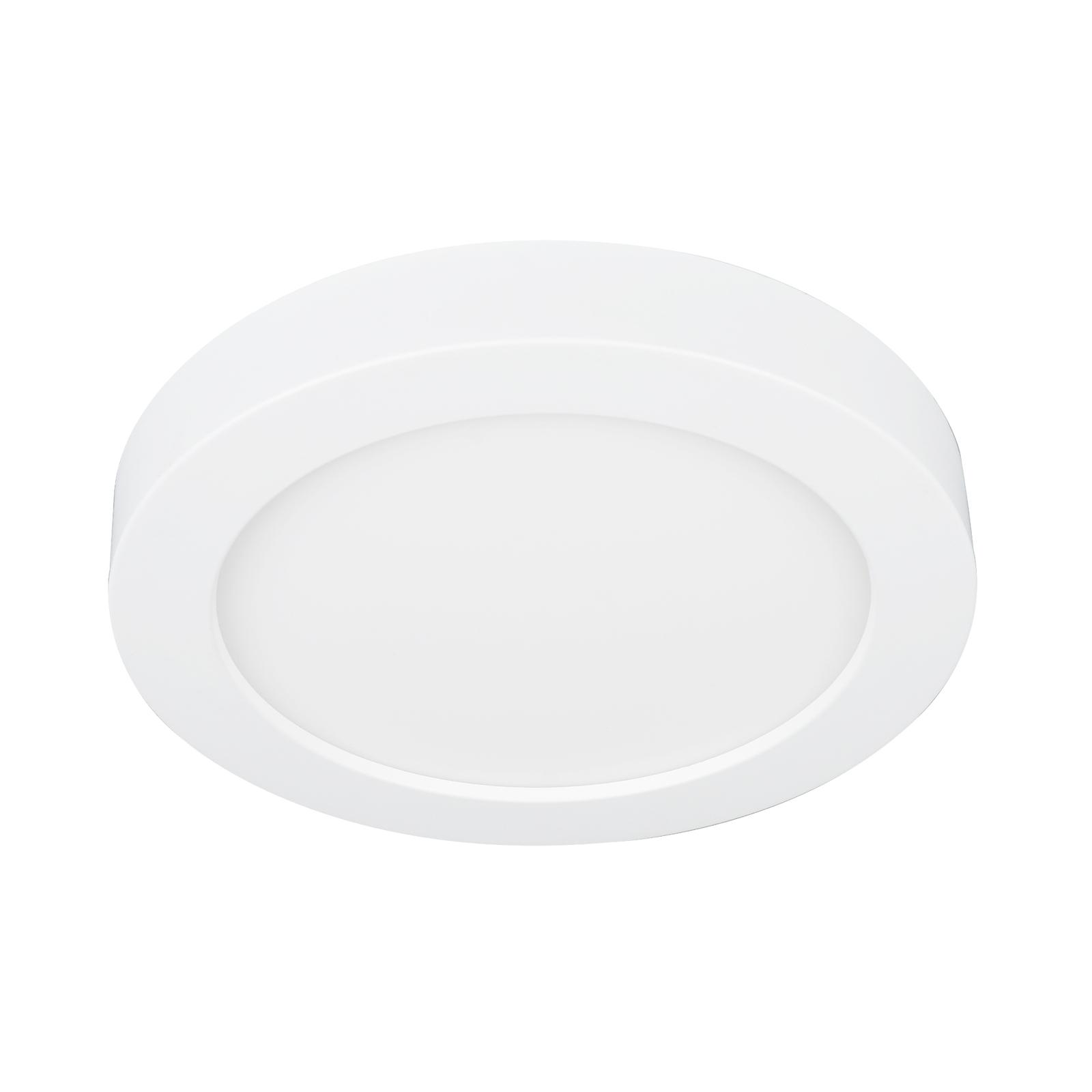 Prios Edwina LED-taklampe, hvit, 17,7 cm