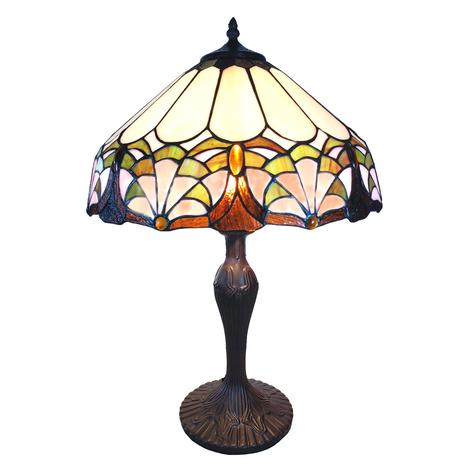 Tischleuchte 6021 vielfarbiger Tiffany-Stil-Schirm