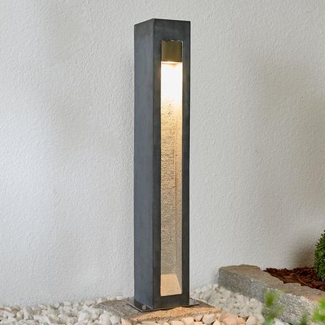 LED-pullertlampe Adejan, brostein, V4A, 70 cm