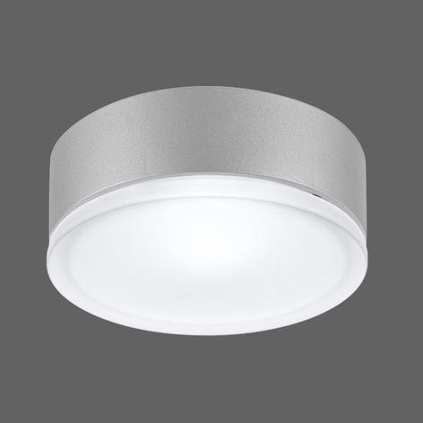 Drop 28 LED Außenwandleuchte in Grau