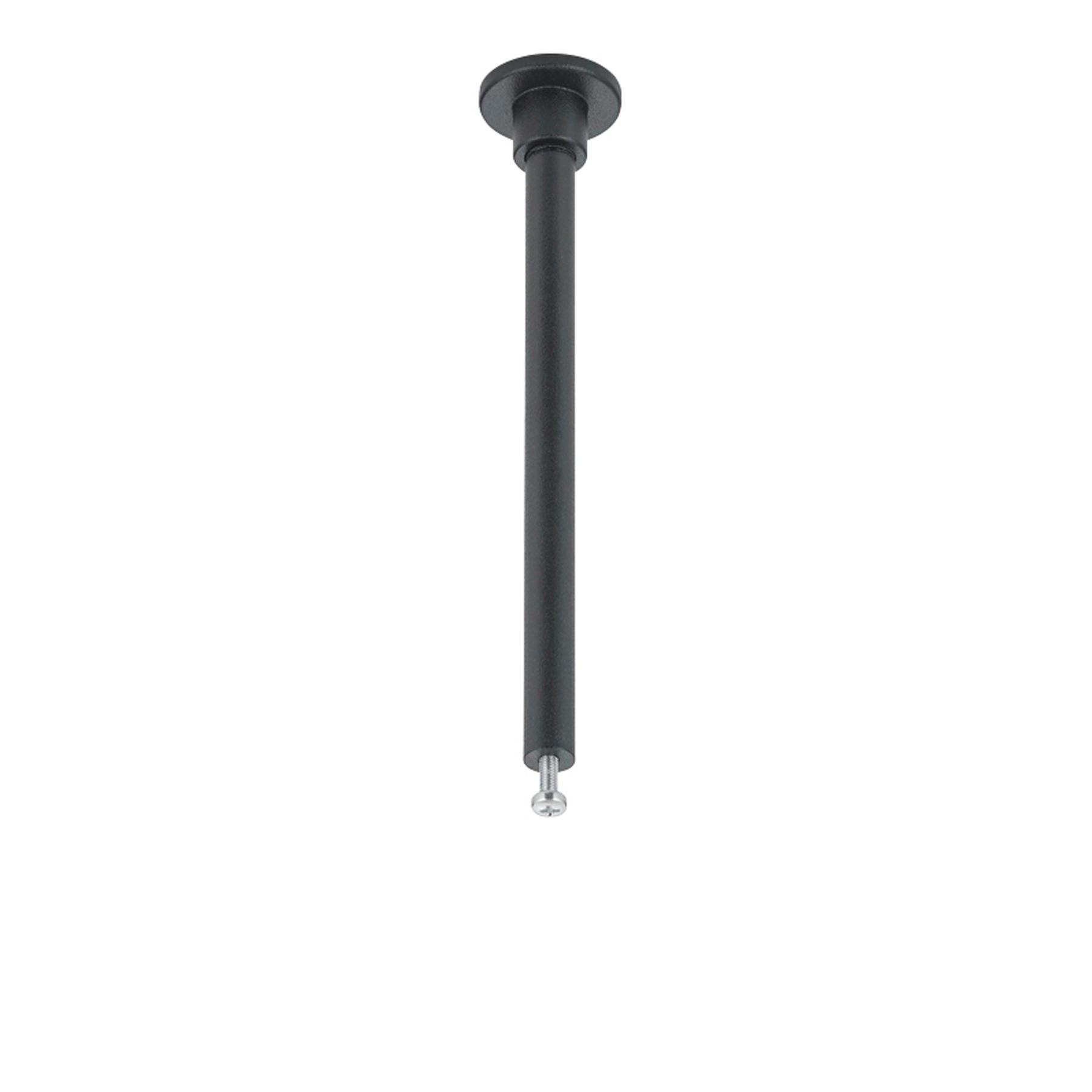 Stanga montaggio binario DUOline, nero, 12,5cm