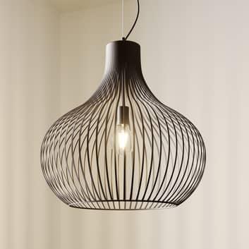 Lampada a sospensione a gabbia Frances 1 luce 60cm