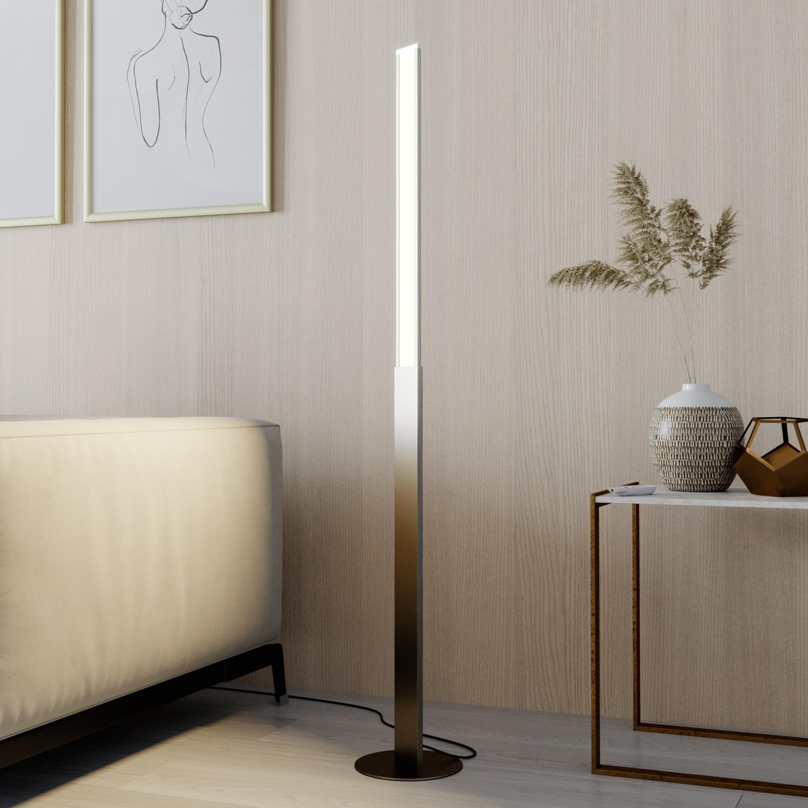 Lindby Smart Ibbe lampadaire LED