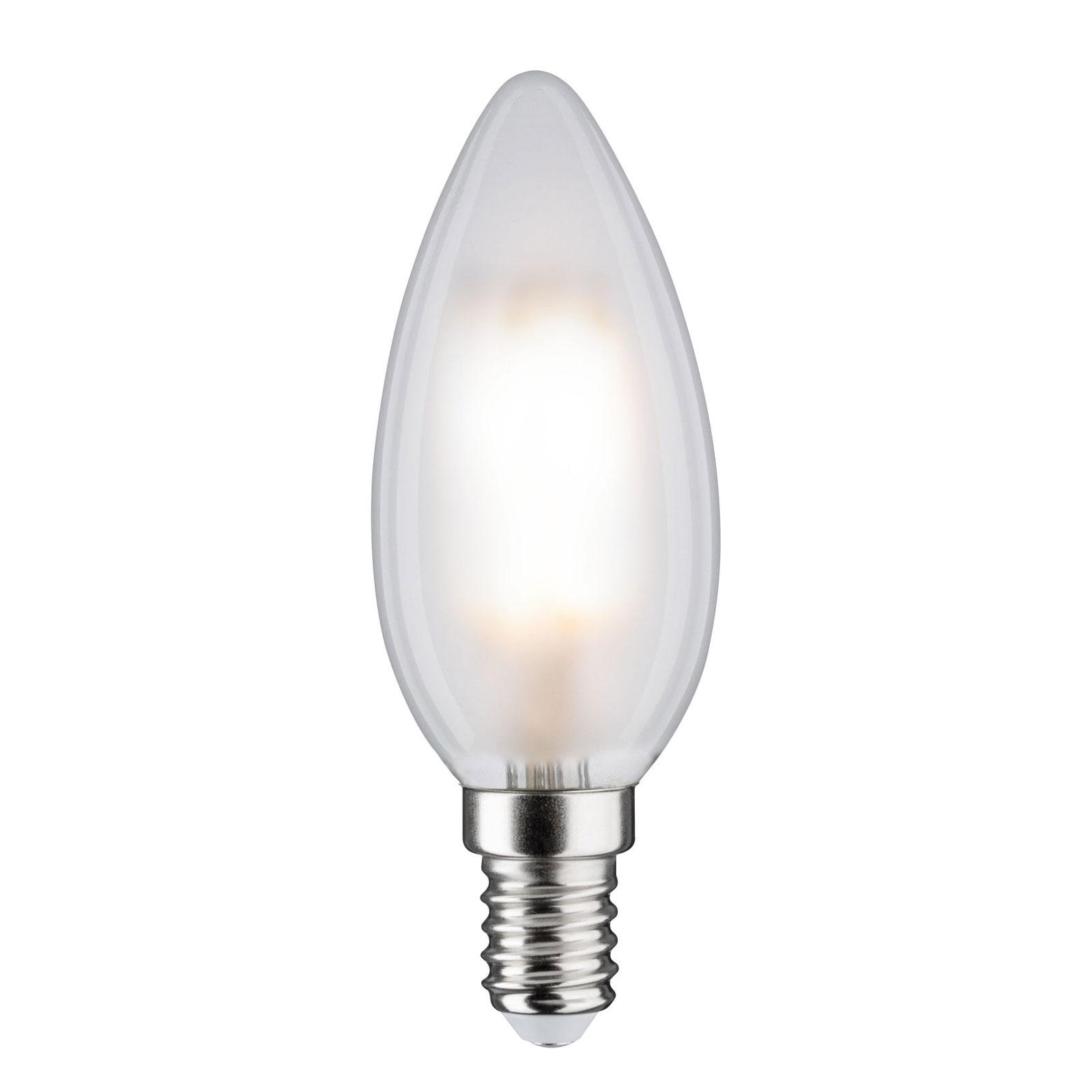 LED-Lampe E14 B35 5W 840 matt dimmbar